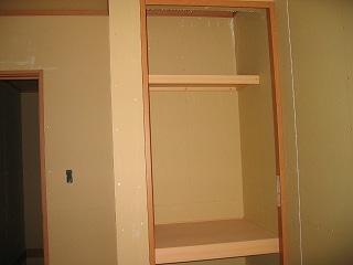 2階子供部屋のクローゼット