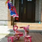 プリキュア三輪車