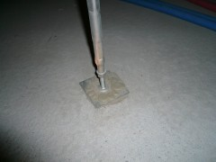 床束と基礎の密着状態